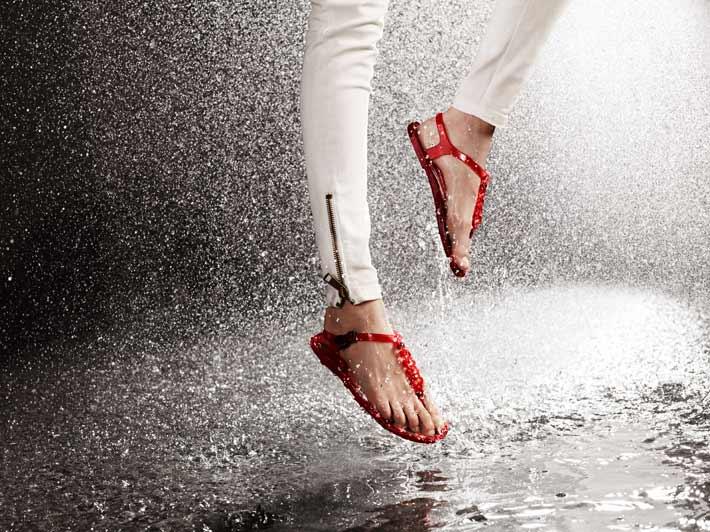 confashion: Pleasure of a rain dance in